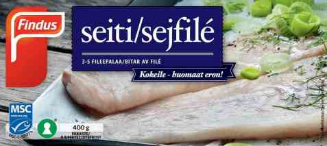 Bilde av Findus sei filet.