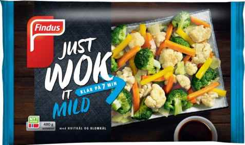 Bilde av Findus just wok it mild.
