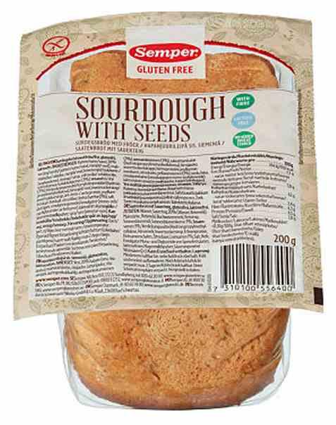 Bilde av Semper surdeigsbrød med frø.