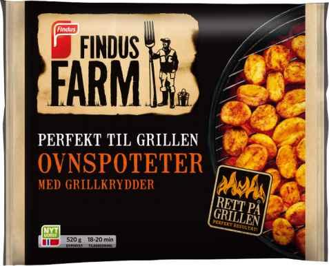 Bilde av Findus Farm Ovnspoteter med grillkrydder.