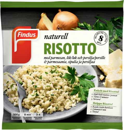 Bilde av Findus risotto naturell.