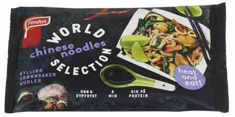 Bilde av Findus chinese noodles.