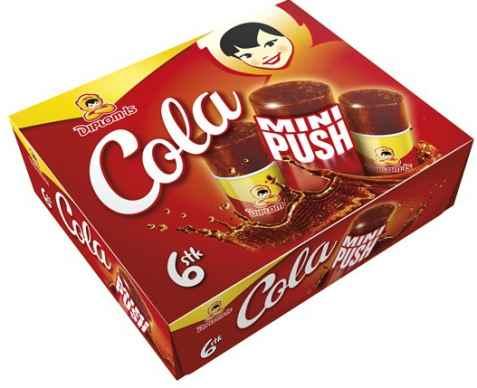 Bilde av Diplom cola minipush 6pk.