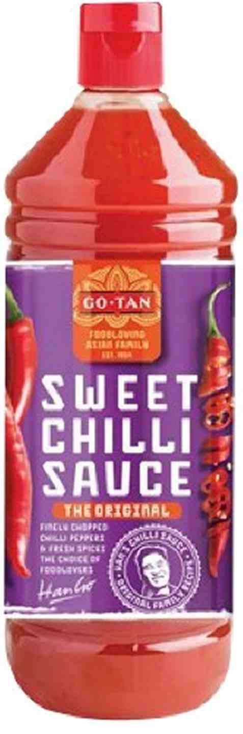 Bilde av Go-Tan sweet Chilli Sauce Hot 1 liter.