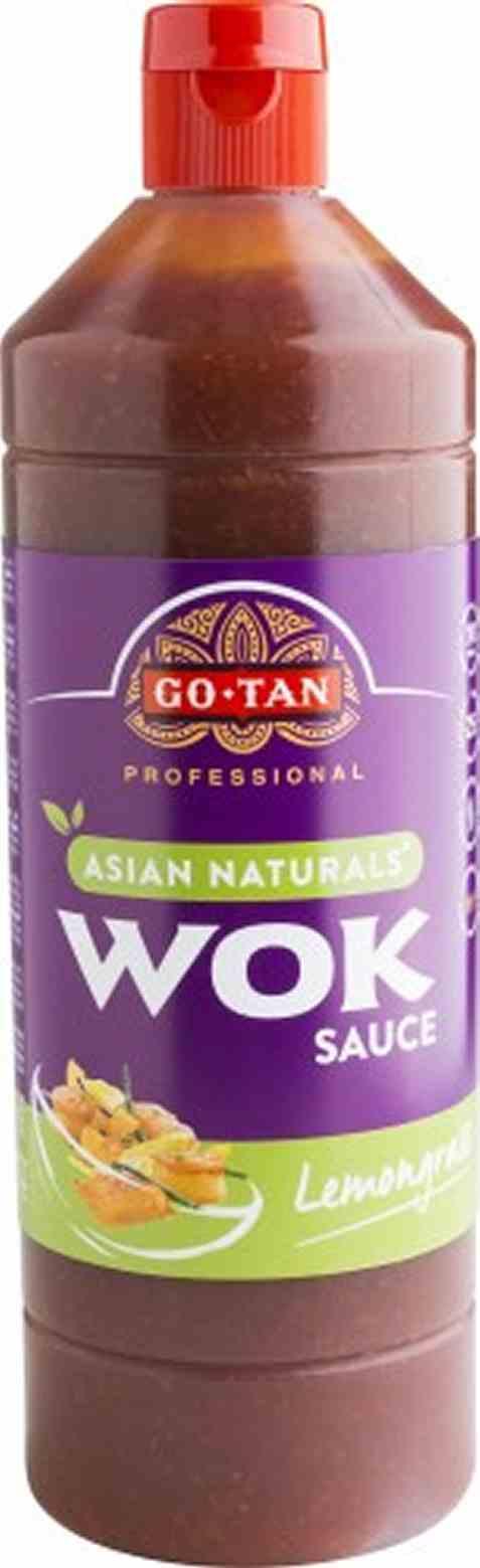 Bilde av Go-Tan Asian Naturals Woksaus Lemongrass 1 liter.