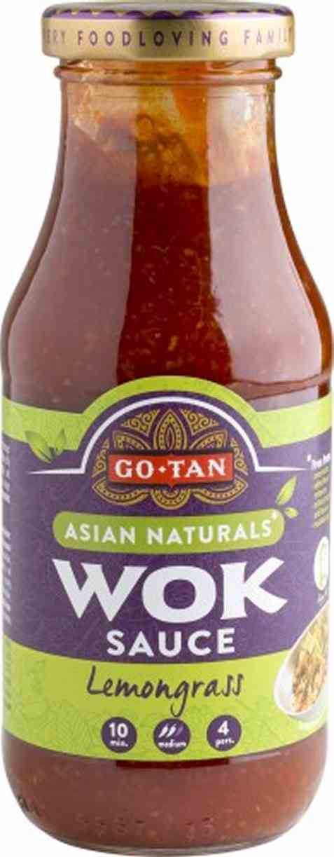 Bilde av Go-Tan asian naturals woksaus sitrongress 240 ml.