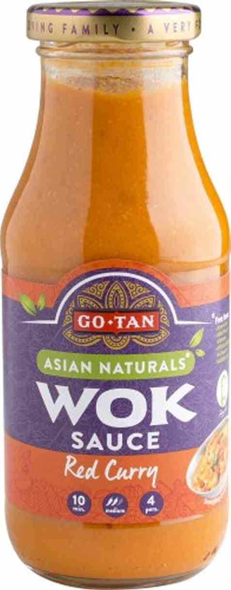 Bilde av Go-Tan asian naturals Woksaus Red Curry.
