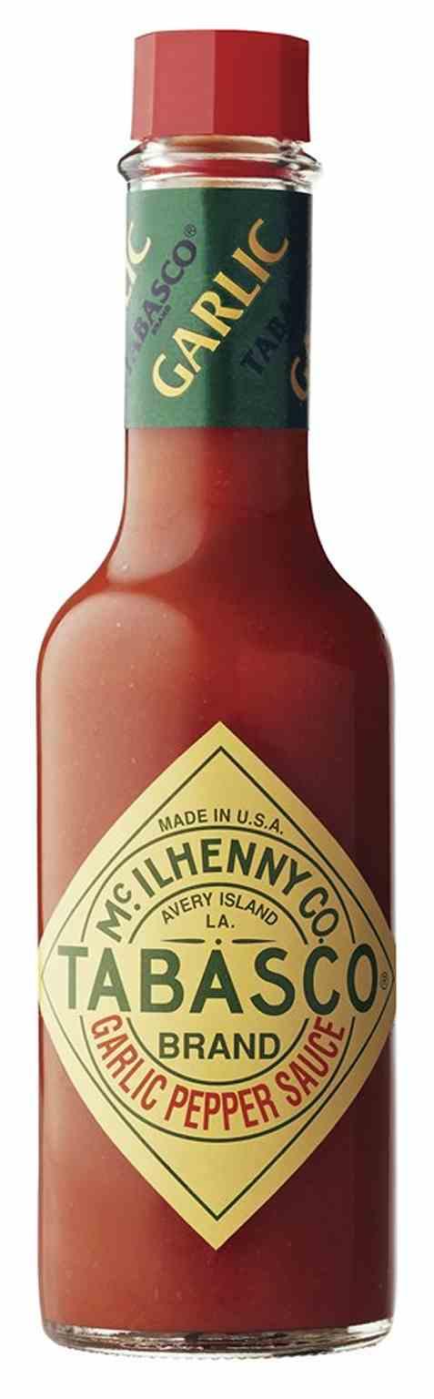 Bilde av Tabasco Brand Garlic Pepper Sauce.
