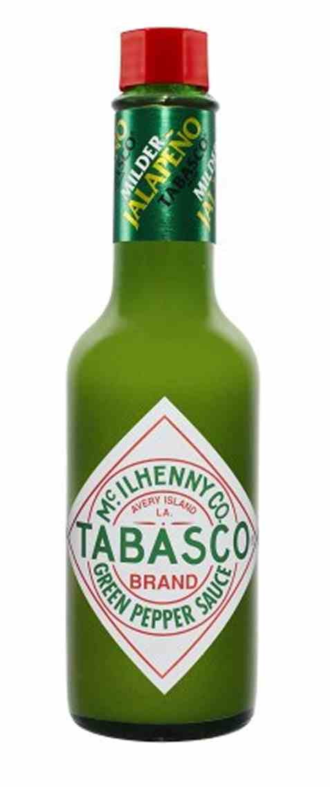 Bilde av Tabasco Brand Green Pepper Sauce.