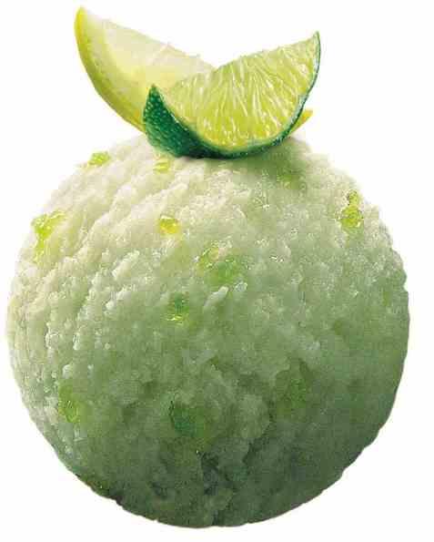 Bilde av Mövenpick lemon-lime sorbet 2,4 l.