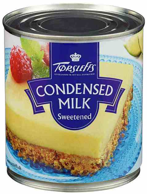 Bilde av Tørsleffs Kondensert melk.