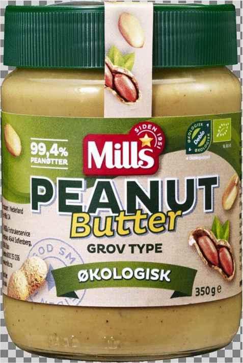 Bilde av Mills Økologisk Peanut Butter.