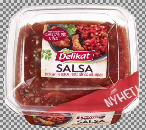 Bilde av Delikat salsa.