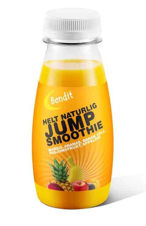 Bilde av Bendit ananas & mango smoothie.