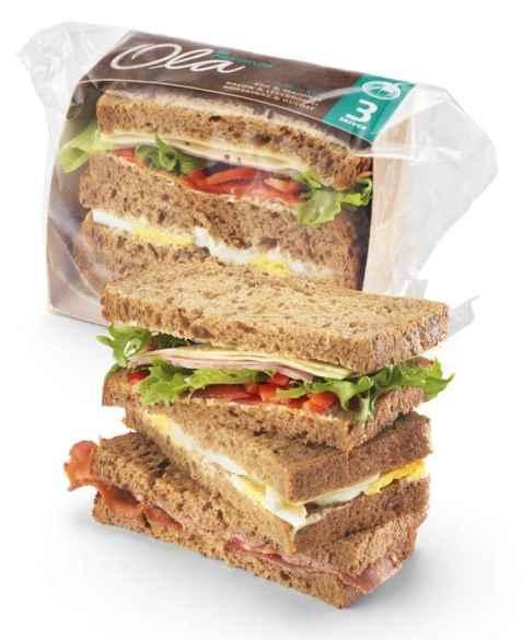 Bilde av Bama Ola matpakke 3 skiver med karbonade.