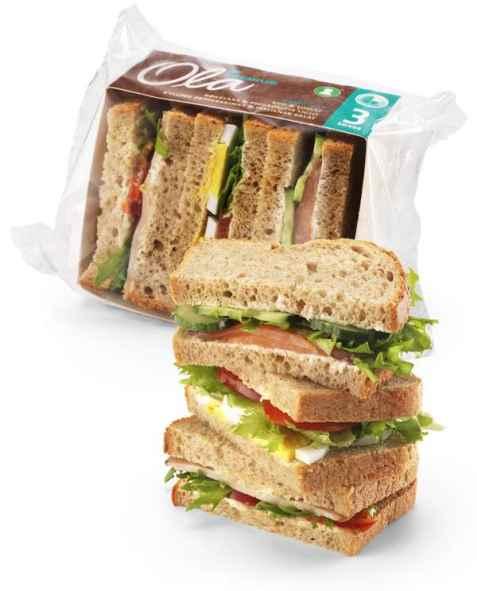 Bilde av Bama Ola matpakke 4 skiver med karbonade.