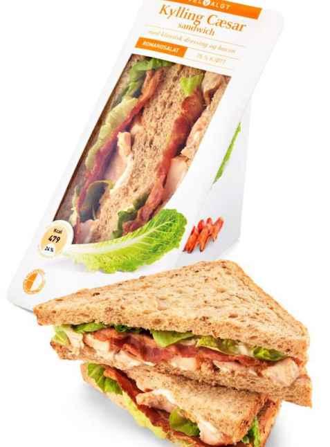 Bilde av Bama VelValgt sandwich cæsar.