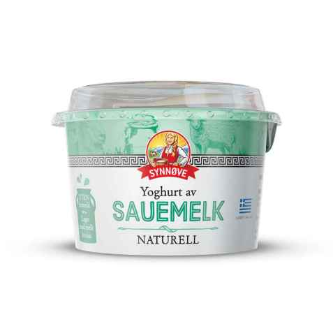 Bilde av Synnøve gresk yoghurt sau.