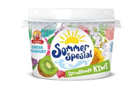 Bilde av Synnøve gresk yoghurt med sprudlende kiwi.