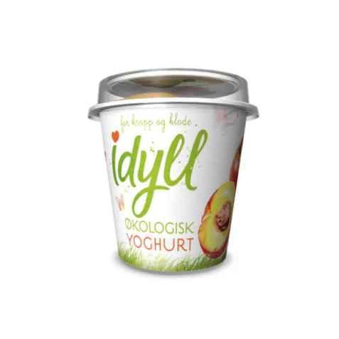 Bilde av Synnøve Idyll økologisk yoghurt mango og fersken.