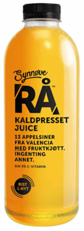 Bilde av Synnøve rå Appelsiner med fruktkjøtt.
