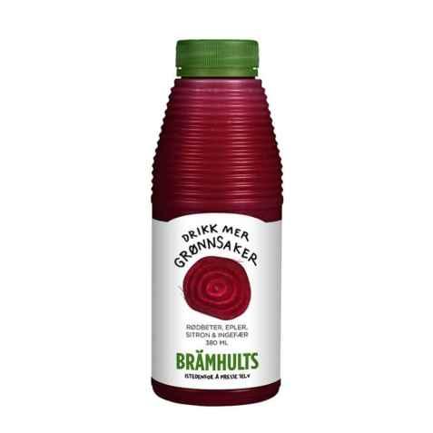 Bilde av Bramhults nypresset rødbetjuice.