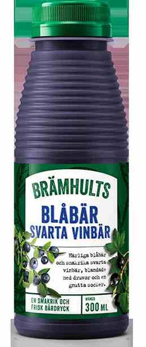 Bilde av Bramhults blåbær/solbærdrikk.