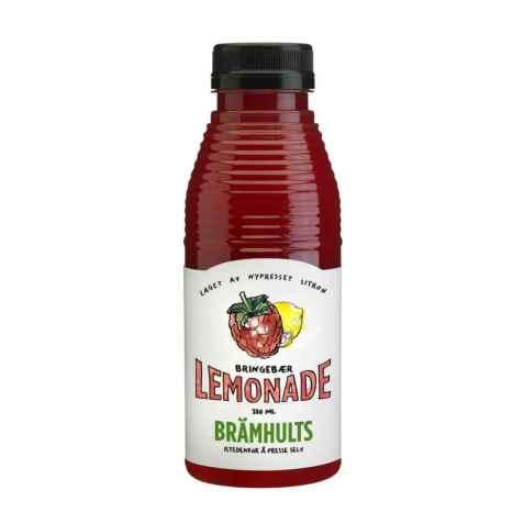 Bilde av Bramhults bringebær lemonade.