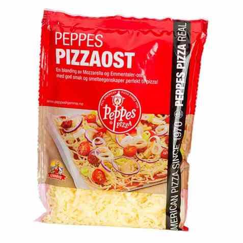 Bilde av Peppes pizzaost.