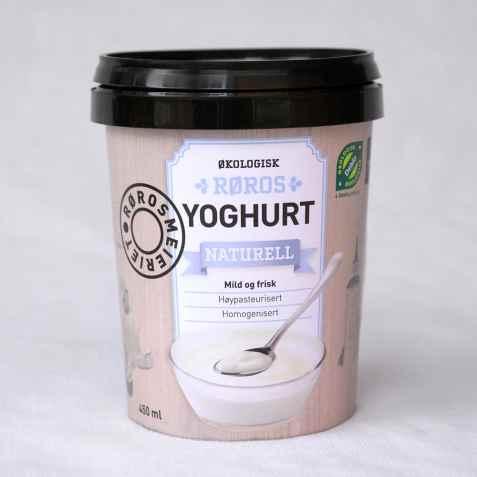 Bilde av Rørosmeieriet yoghurt naturell.