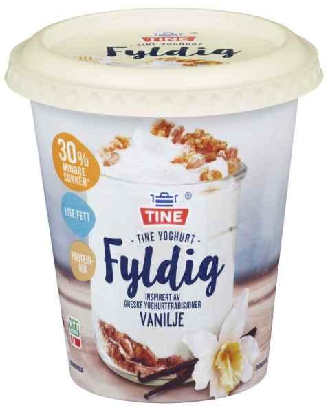 Bilde av TINE Yoghurt fyldig vanilje.