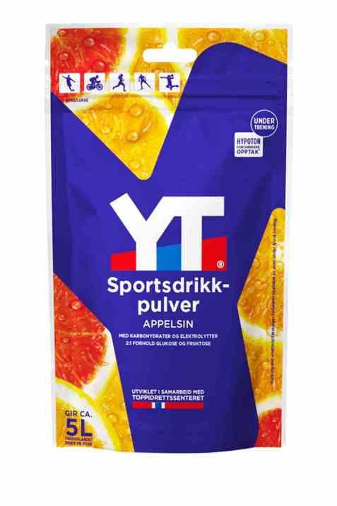 Bilde av Tine YT Sportsdrikkpulver Rød Appelsin.