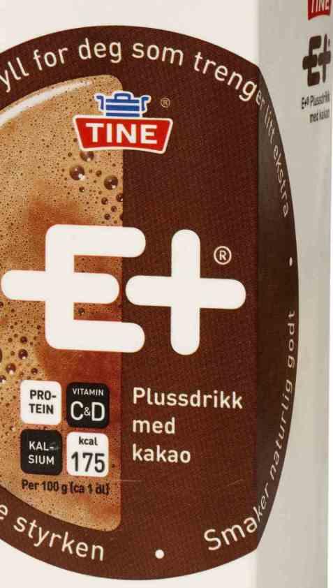 Bilde av Tine E+ drikk kakao.