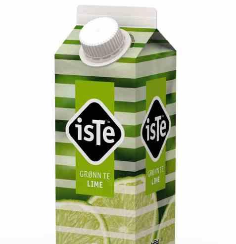 Bilde av Tine IsTe Lime grønn.