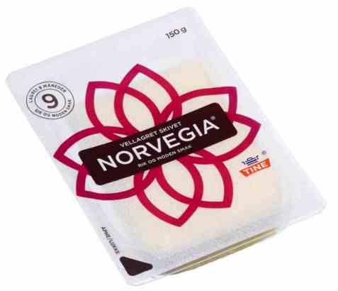 Bilde av Tine Norvegia vellagret skiver.