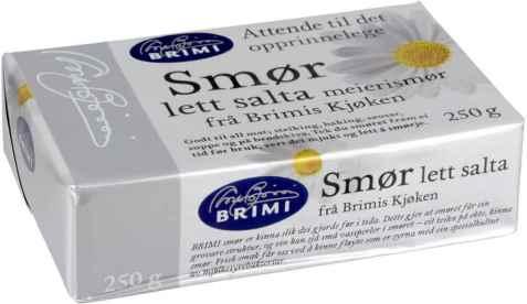 Bilde av Brimi lettsalta smør.