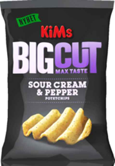 Bilde av Kims big cut sourcream and pepper.