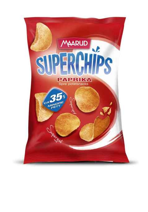 Bilde av Maarud superchips paprika.