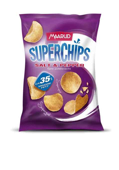 Bilde av Maarud superchips salt og pepper.