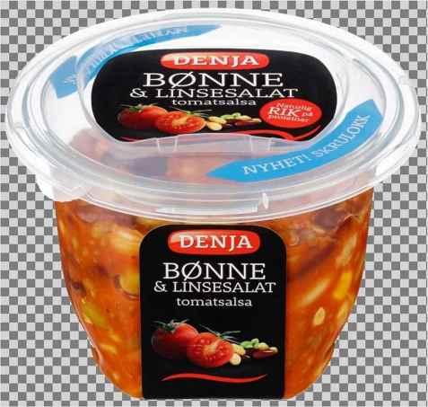 Bilde av Denja bønne og linsesalat tomat.