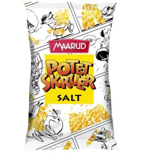 Bilde av Maarud potetskruer salt.