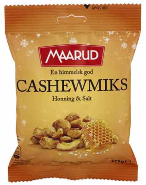 Bilde av Maarud cashew røstet og saltet.