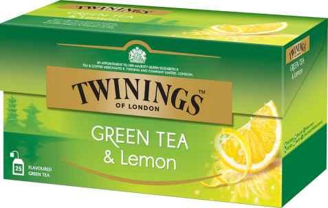 Bilde av Twinings Grønn Te sitron.