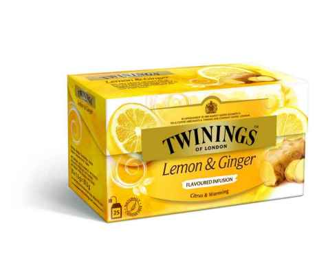 Bilde av Twinings Sitron & Ingefær te.