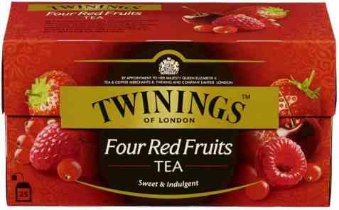 Bilde av Twinings 4 røde frukter.