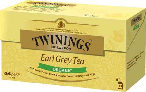 Bilde av Twinings Økologisk Earl Grey te.