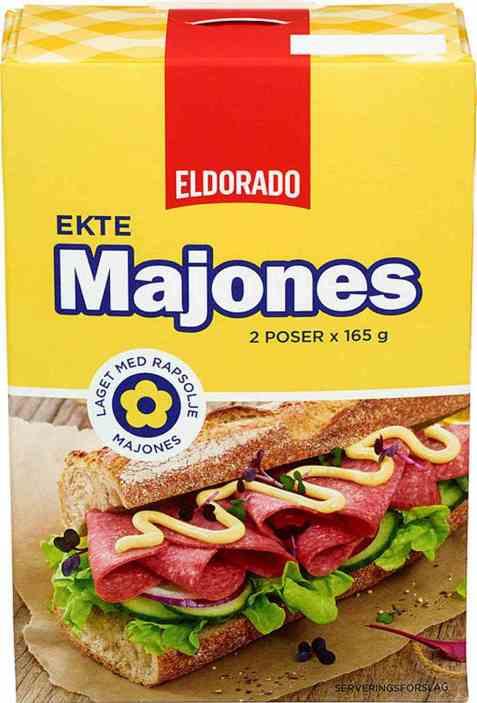 Bilde av Eldorado ekte majones.