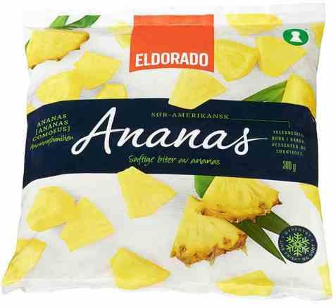 Bilde av Eldorado ananas frossen.