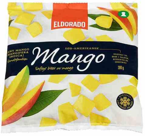 Bilde av Eldorado mango frossen.