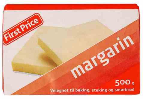 Bilde av First Price margarin.